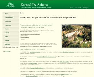 Website Kasteel de Schans