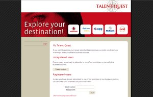Website Talent-Quest